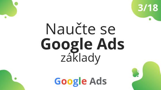Naučte se Google Ads základy