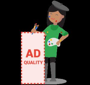 Skóre kvality reklamy
