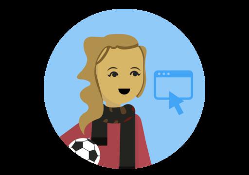 Kolik kliknutí na můj fotbalový míč vede ke skutečnému nákupu na mých webových stránkách?