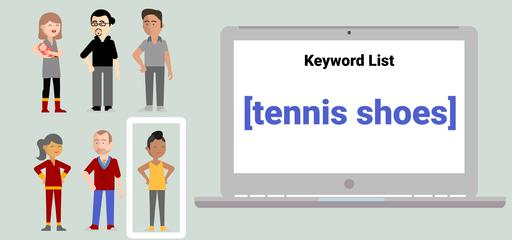 Klíčové slovo tenisové boty - přesná shoda