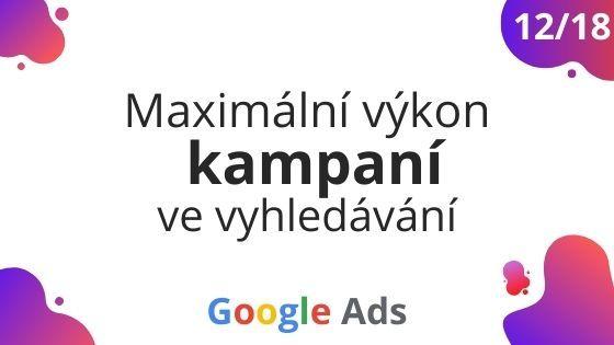 Google Ads akademie 12/18