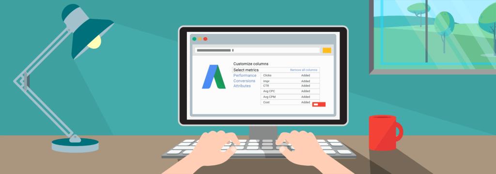 Google Ads akademie srovnání v účtu