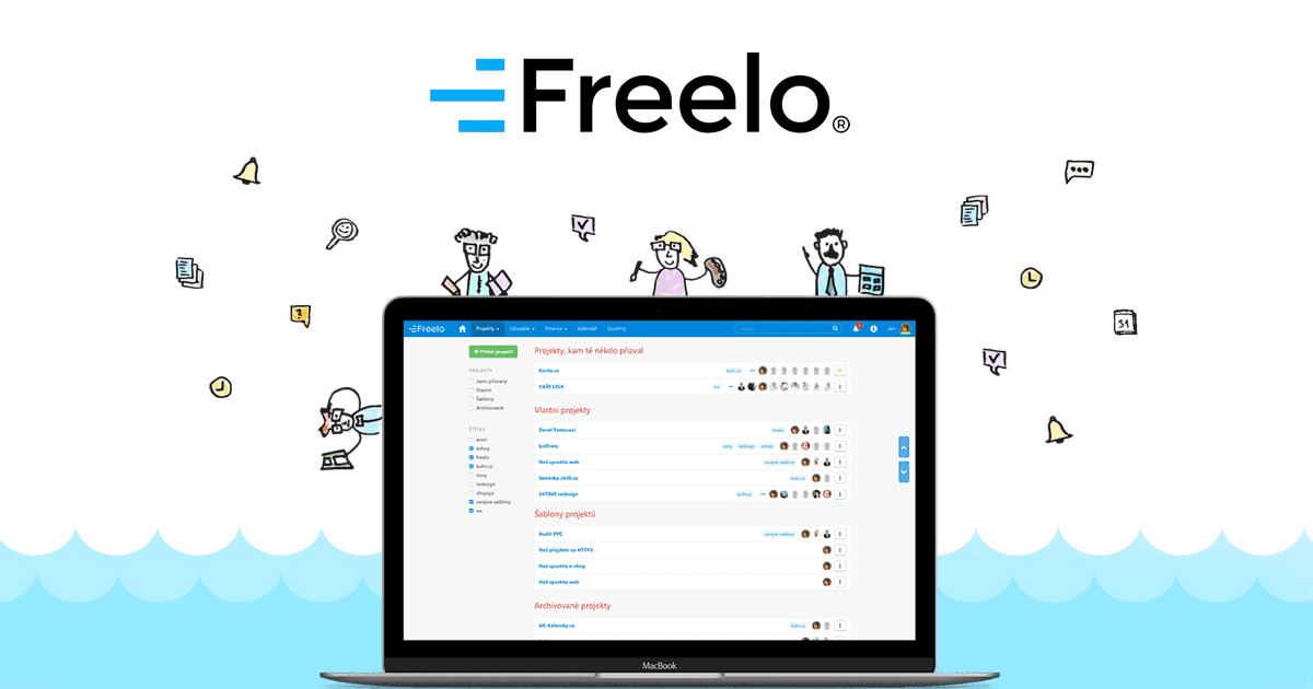 Nejlepší aplikace je Freelo